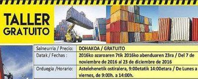 Taller de Mantenimiento y Reparación de Contenedores Metálicos Marítimos y Terrestres (150 h.)