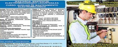 Curso: Auxiliar de Mantenimiento Electromecánico