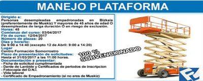 """CURSO """"Manejo Plataforma"""""""