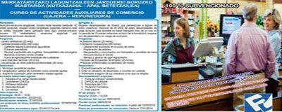 Curso de Actividades Auxiliares de Comercio (Cajera-Reponedora)