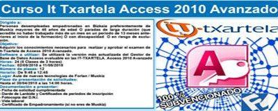 Curso de Informática IT TXARTELA – ACCESS 2010